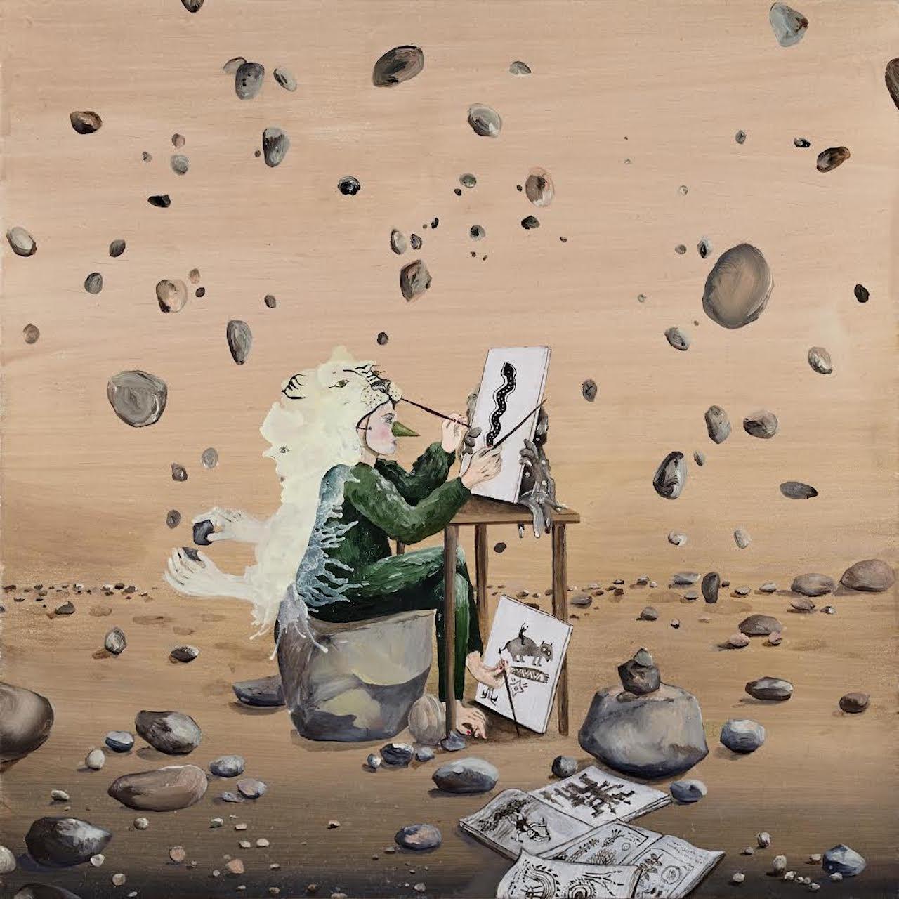 "Karine Rougier ""Desordre en coulisses"" (2016) (image courtesy of Galerie Dukan)"