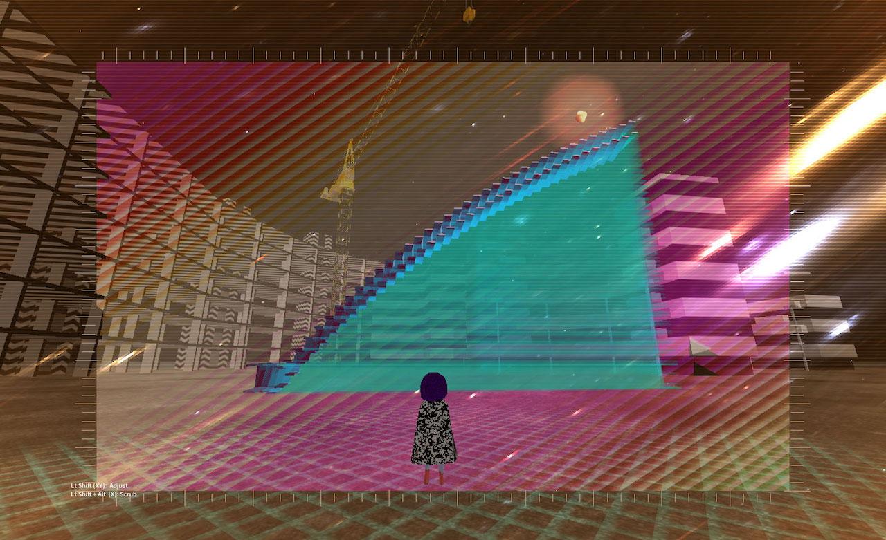 Still from an early Horizon VR build (courtesy Omer Shapira)