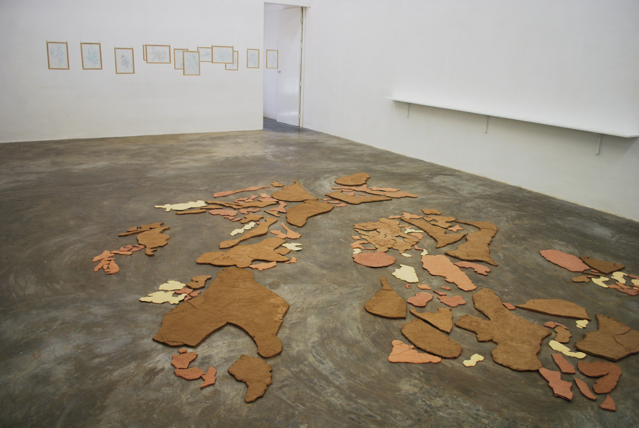 Installation shot of Typhographies. All Photographs by the author.