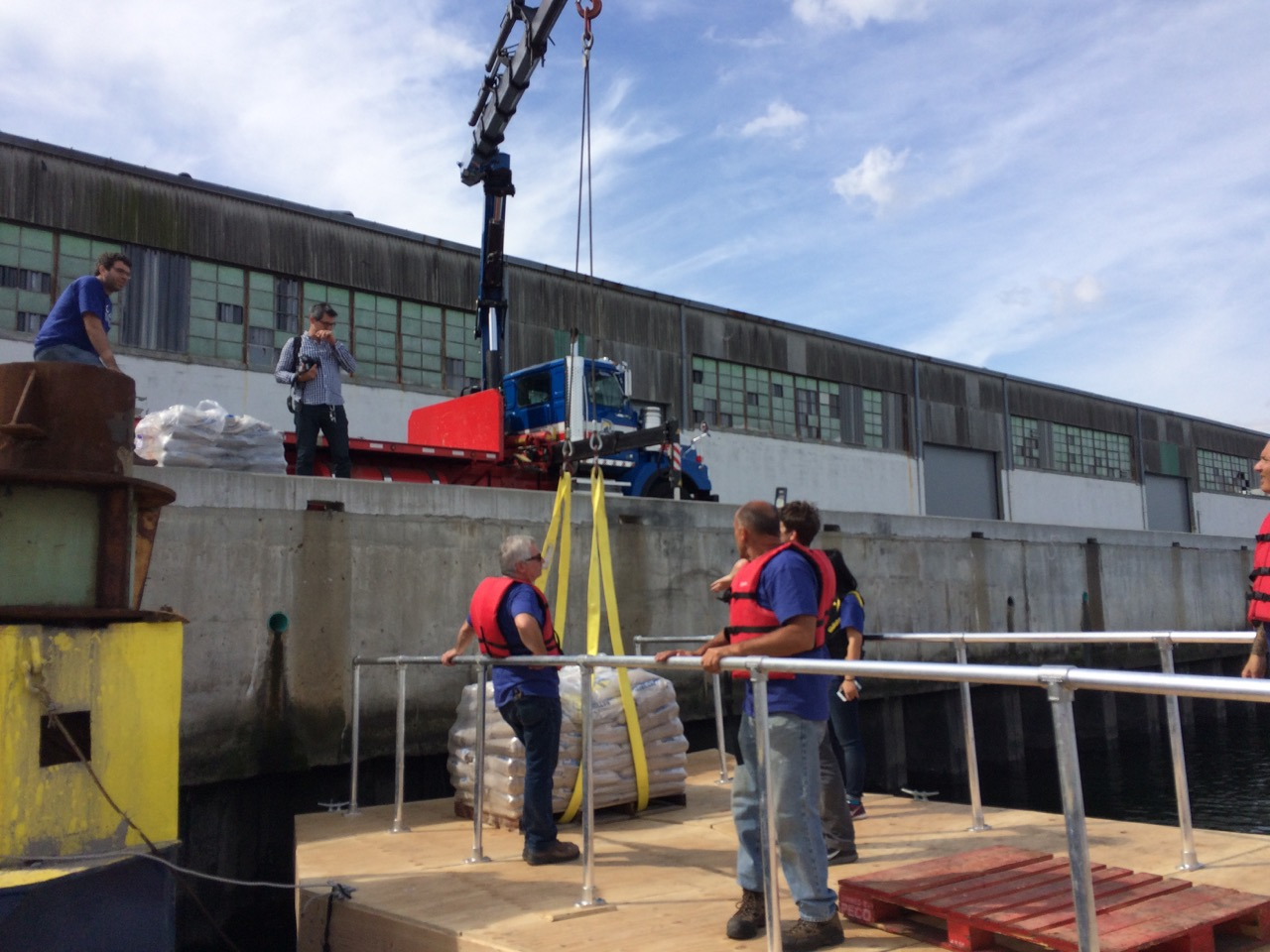 Testing the superblock prototype in September 2015