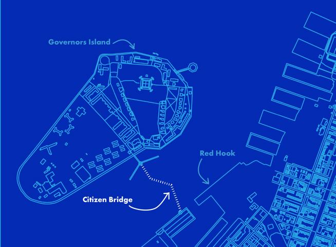 "Proposed location of ""Citizen Bridge"" (click to enlarge)"