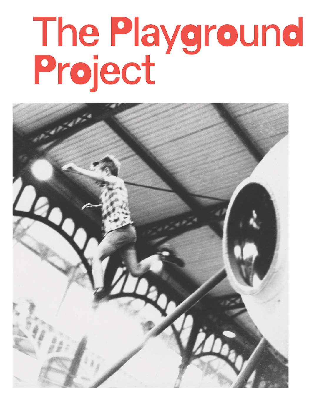 Cover of 'The Playground Project' (courtesy JRP-Ringier)