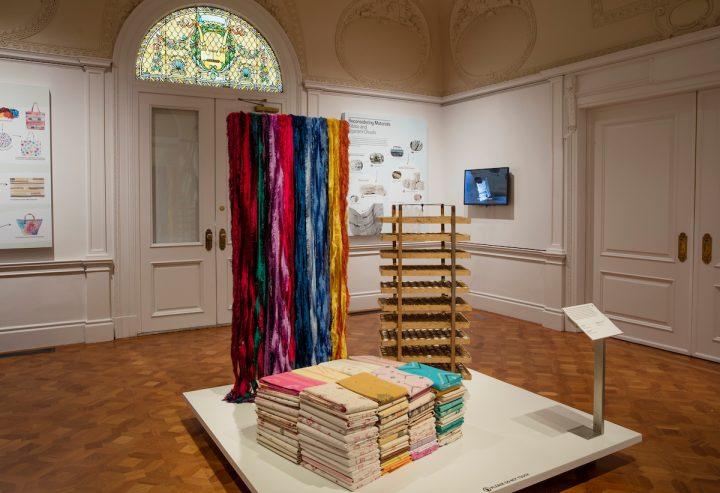 """""""Scraps,"""" installation view"""