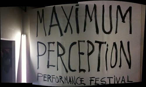 Maximum Perception Title
