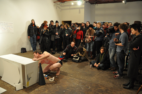 """Myk Henry, """"White Power"""" (2009)"""