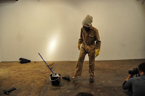 "Jodie Lyn Kee Chow + Zachary Fabri, ""Walk better than sidong"" (2009)"