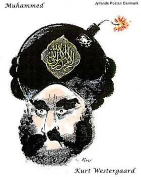 The controversial Mohammad cartoon. (image via FriendlyAtheist.com)