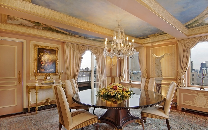 Rush limbaugh s gaudy fifth avenue penthouse for Fifth avenue apartments nyc