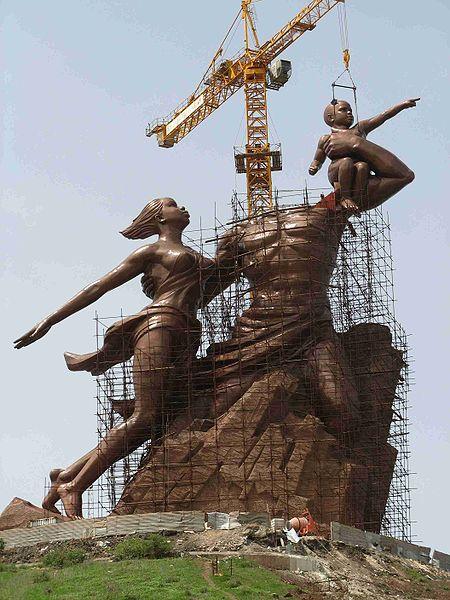 Controversial African Renaissance Statue Rises In Senegal