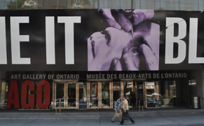 Post image for Barbara Kruger Tells You to Love, Shove, Blame … the Art Gallery of Ontario