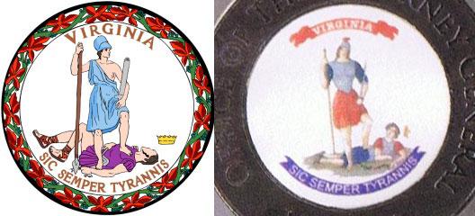 Risultati immagini per Virginia seal Ken Cuccinelli