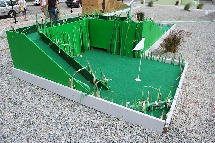 The Jersey City Mini-Golf Experiment: The Golden Door Is Now Open