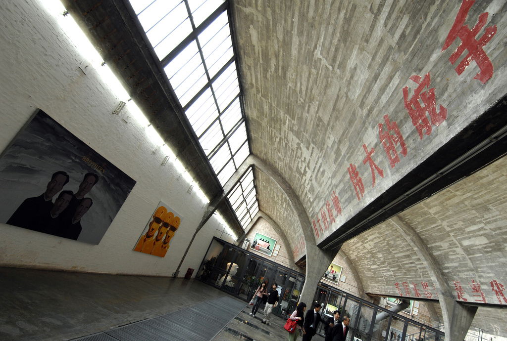 798 Space's sweeping hall hosts events and exhibitions. Image courtesy Flickr user bobbyxinhua on a Creative Commons License.