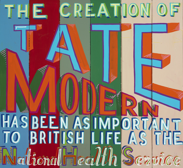 Conceptual Artist Bob And Roberta Smith Puts Us All In Charge