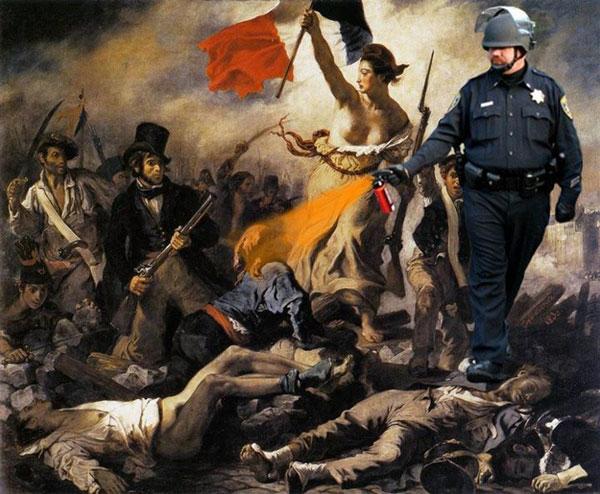 pepper 01 600 pepper spray cop meme walks through art history