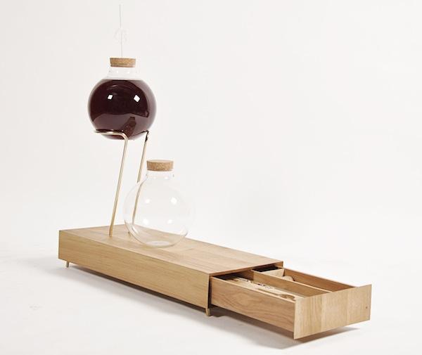 The minimal design of Sabine Marcelis's House Wine kit makes it a visual work of art itself. Image via sabinemarcelis.com.
