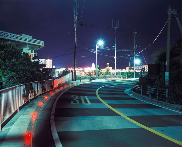 "Greg Girard, ""Road above U.S. Marine Corps Camp Lester, Okinawa, Japan"""
