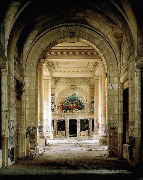 """Frank Schwere, """"Arcade (Michigan Central Depot, 240 West Vemor St.) Detroit, MI"""""""
