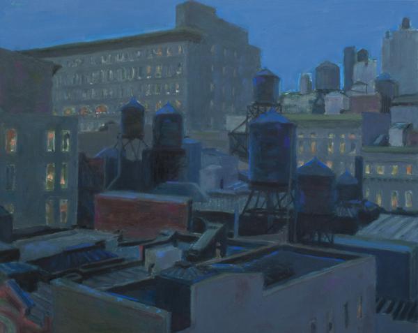 """Violet Baxter, """"Watertower Still Life"""""""