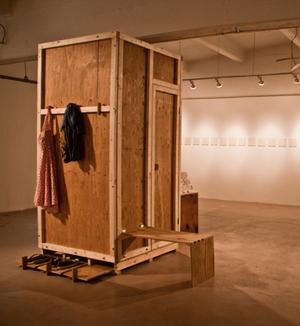 """Trevor Amery, """"Portable Sauna"""""""