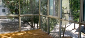 Where Where Art Space's residency overlooks a peaceful courtyard in Caochangdi. Image courtesy Where Where.