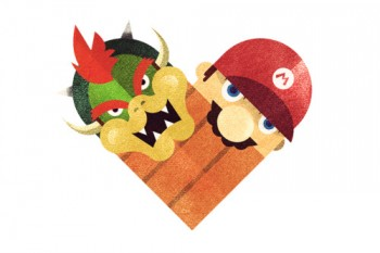 Mario and Bowser learn to love each other.