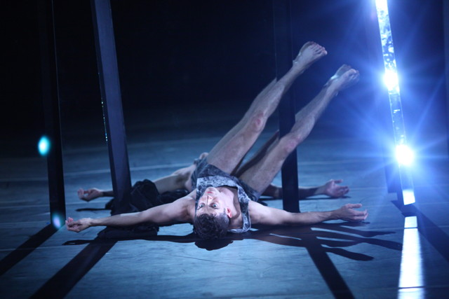 """Performance still from """"Two Alike"""""""