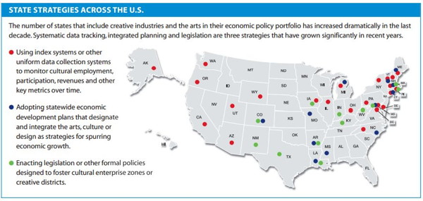 NGA chart of states investing in arts