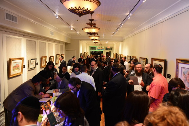The opening of Betzalel Gallery