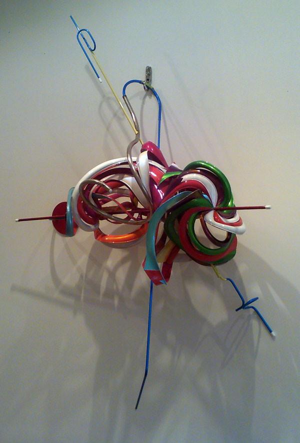 "Frank Stella, ""k.305 (ABS Red)"""