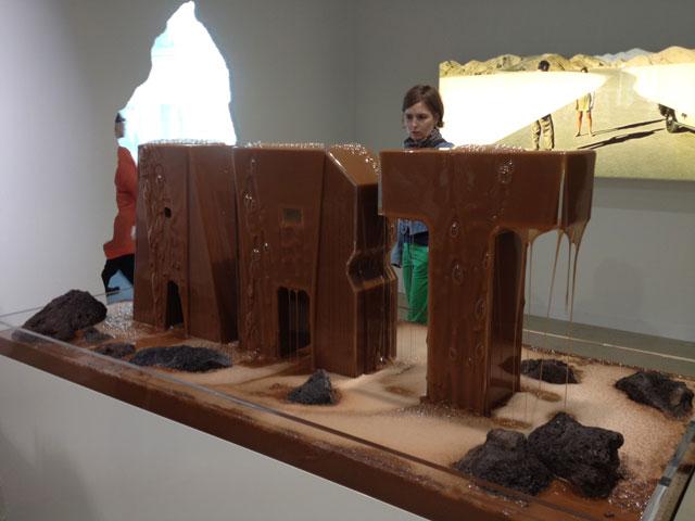 """Doug Aitken, """"Fountain (Earth fountain)"""""""