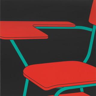 """Michael Craig-Martin RA, """"Desk chair"""""""