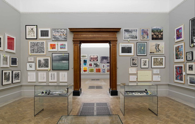 Installation view of Royal Academy Summer Exhibition 2011