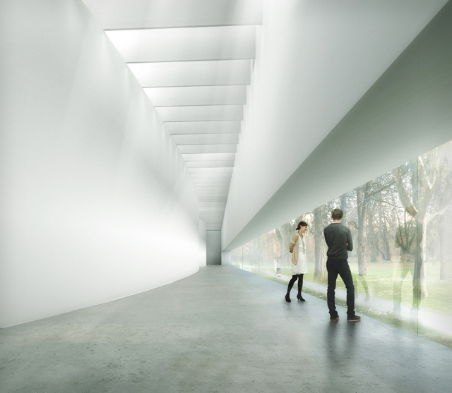 Largest contemporary glass museum to open in upstate ny for Movement architecture concept