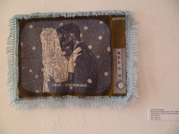"Piece from Osmeivy Ortega, ""Sueño Americano (American Dream)"""