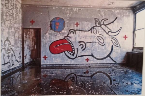 """Andreas Sterzing, """"Pier 34-1214 David Wojnarowicz"""""""