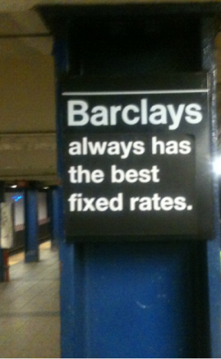 Barclays always has the best fixed rates.