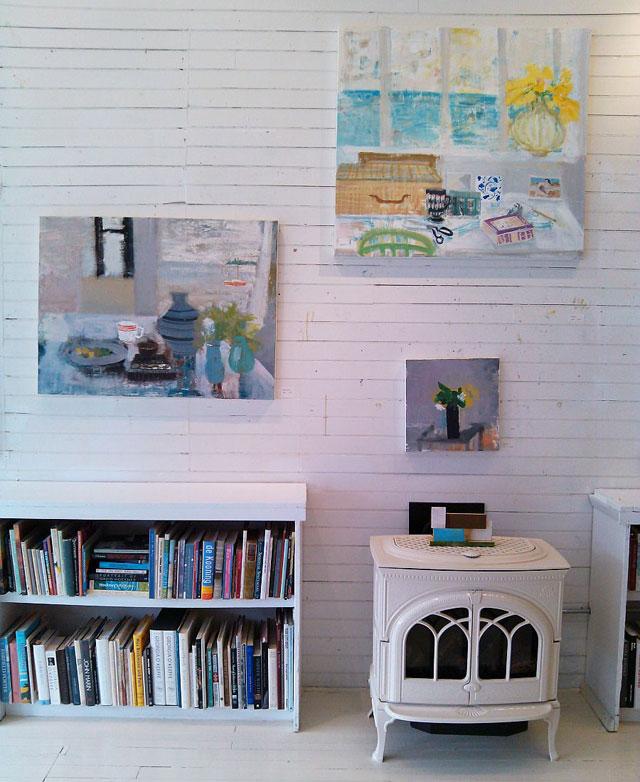 Melanie Parke's studio