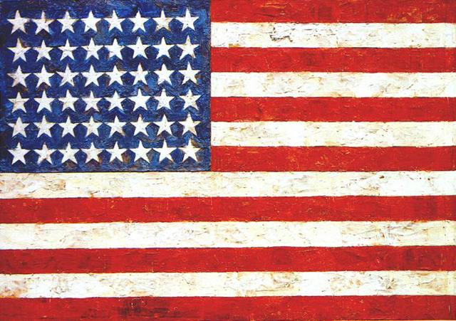 """Jasper Johns, """"Flag"""""""