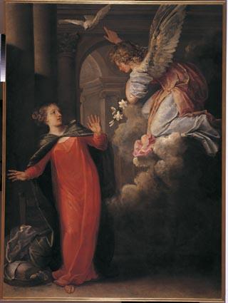 """Pietro Liberi """"Annunciation"""""""