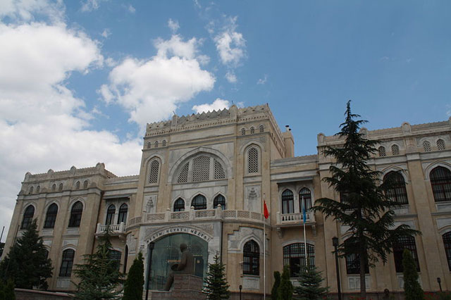 The State Art and Sculpture Museum in Ankara