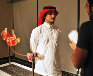 Artist Eyad Maghazil at YSA 2011