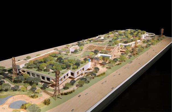 Frank Gehry's design for the Facebook campus extension