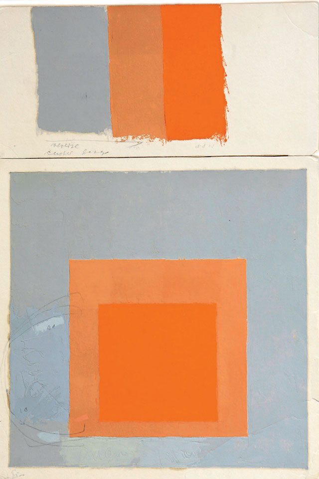 The Square In Raw Josef Albers Unguarded Moments