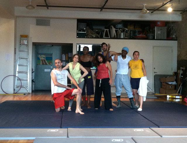Circus Amok performers