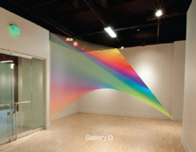"Gabriel Dawe, ""Plexus No. 18"""