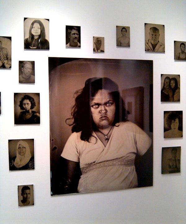 """Kelly Anderson-Staley, """"[Hyphen]-Americans: Tintype Portraits"""""""