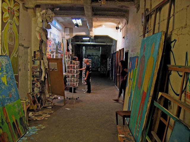 Inside Tacheles