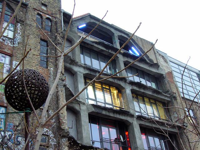 A shot of Tacheles's exterior