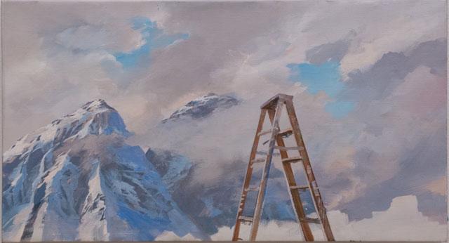 "Adam Cvijanovic, ""Santi's Ladder"""